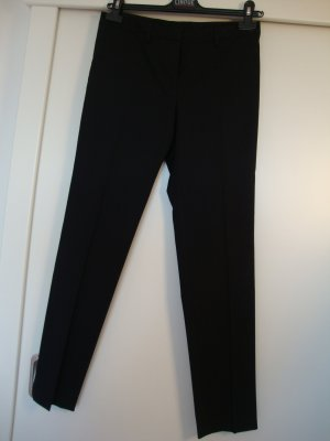 Porsche Design Woolen Trousers black mixture fibre