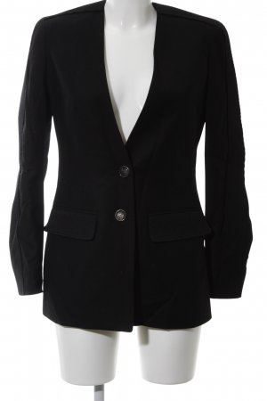Porsche Design Long-Blazer schwarz Business-Look