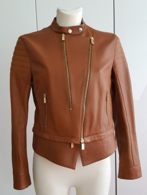 Porsche Design Motocross Women Leather Jacket Damen Leder Jacke