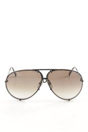 Porsche Design Retro Glasses bronze-colored-black casual look