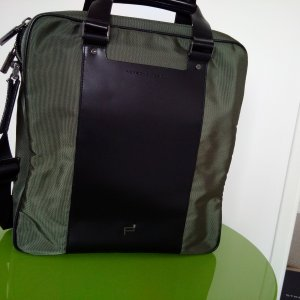 Porsche Design Tote olive green-black nylon