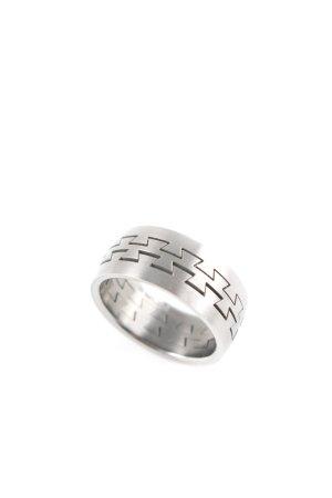Porsche Design Zilveren ring donkergrijs