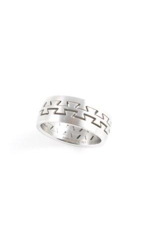 Porsche Design Zilveren ring zilver atletische stijl