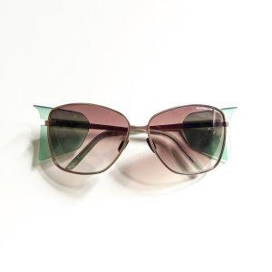 Porsche Design Sonnenbrille sunglasses braun gold grün mint butterfly
