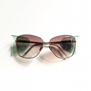 Porsche Design Oval Sunglasses multicolored