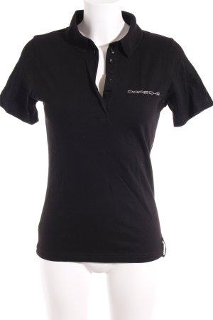Porsche Design T-Shirt schwarz sportlicher Stil