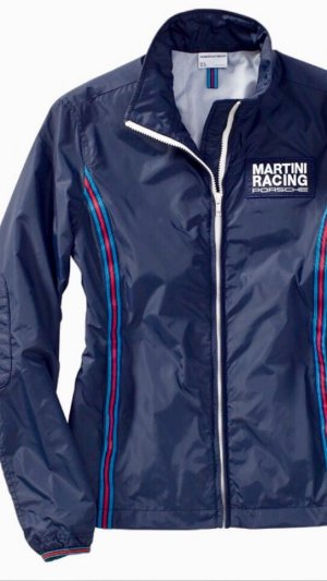 Porsche Martini Racing Windbreaker nagelneu