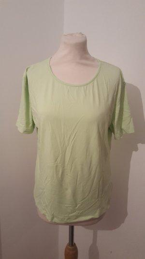 Camiseta verde claro poliamida