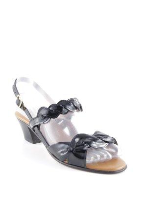 Porta Riemchen-Sandaletten schwarz Elegant
