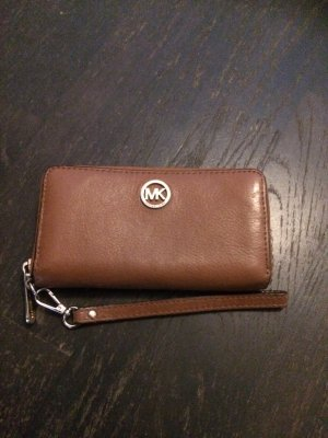 Michael Kors Cartera color bronce Cuero