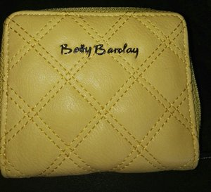 Betty Barclay Cartera amarillo