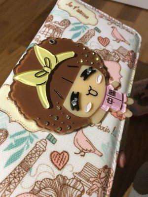 Portemonnaie / Clutch / Tasche mit kleinen funkelnden Steinchen und Spiegel
