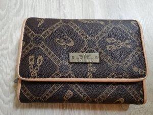 Portemonnaie Eslee hell-/ dunkelbraun - neu ohne Etikett -