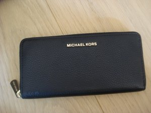 Michael Kors Wallet black-gold-colored leather