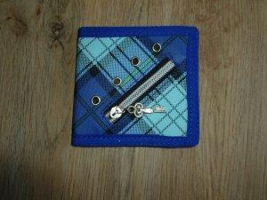 Portemonnaie Geldbörse blau Neu