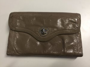 Marc by Marc Jacobs Portefeuille beige cuir