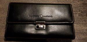 Portefeuille noir faux cuir
