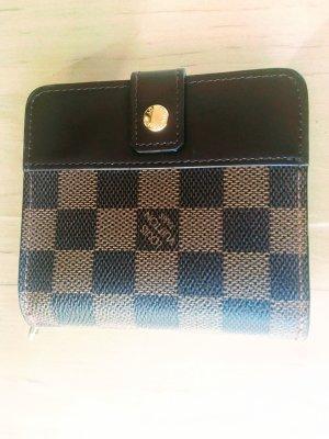 Louis Vuitton Portafogli marrone chiaro-marrone Fibra tessile