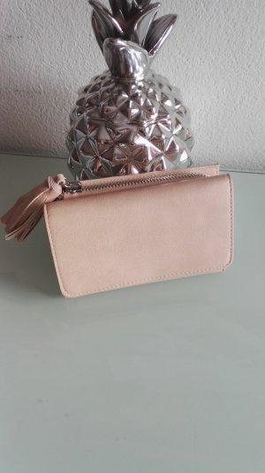 Portemonnaie rosa mit Troddel