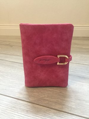 Portefeuille rose-magenta