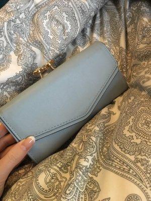 Portefeuille bleu azur