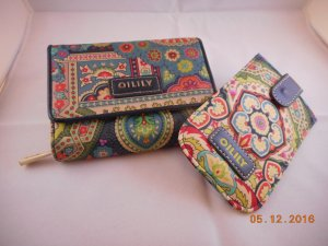 Portmonnaie und Handyhülle von Oilily