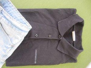 Posche Design Poloshirt schwarz