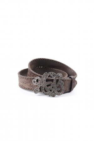 Post & Co Leather Belt animal pattern Boho look