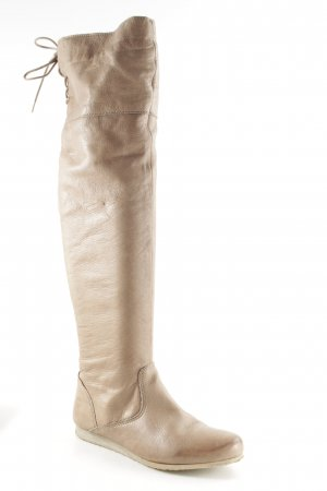 Post Xchange Overknees beige Casual-Look