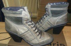 Post Xchange Bottines à lacets gris-gris clair cuir