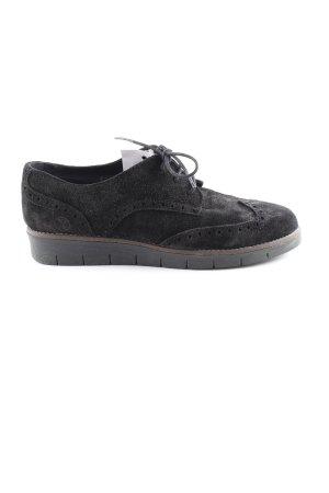 Post Xchange Schnürschuhe schwarz klassischer Stil