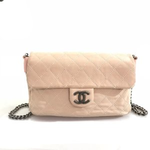 Powder Color  Chanel Shoulder Bag