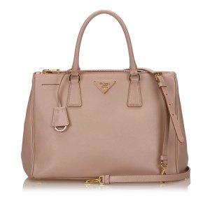 Prada 2 Way Leather Handbag