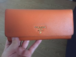 Prada Portefeuille orange