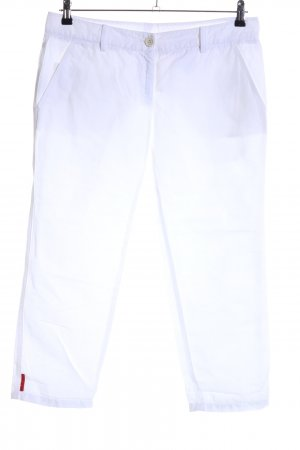Prada 3/4 Length Trousers white casual look