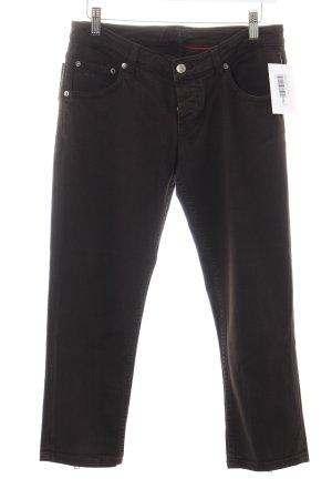Prada 3/4-jeans donkerbruin casual uitstraling