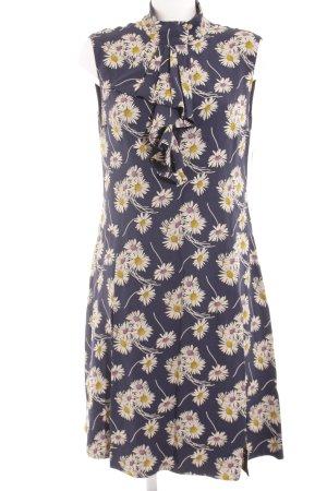 Prada A-Linien Kleid Blumenmuster Romantik-Look