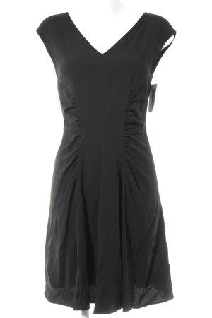 Prada A-lijn jurk zwart casual uitstraling