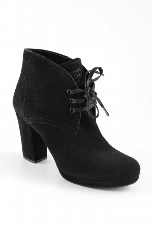 Prada Ankle Boots schwarz Elegant