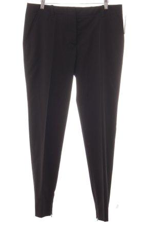 Prada Pantalon de costume noir style d'affaires