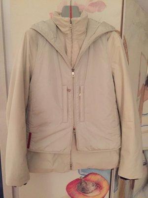 PRADA ausgefallene zweiteilige Outdoor Jacke mit Weste