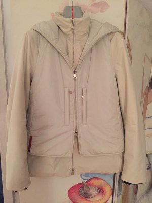 Prada Outdoor Jacket natural white polyester