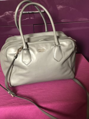 Prada bag in bag grau gelb