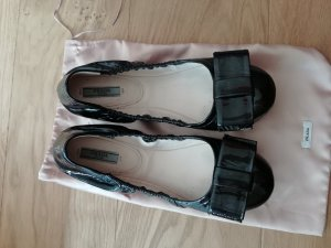 Prada Ballerinas black