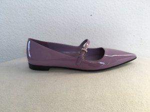 Prada, Ballerinas, Leder, campanula, 39,5, made in Italy, neu, € 600,-