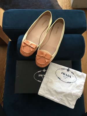 Prada Patent Leather Ballerinas nude-apricot
