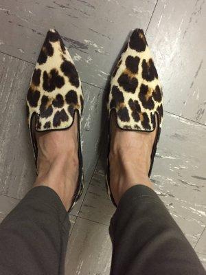 Prada Ballerinas Leopardenfell 39,5