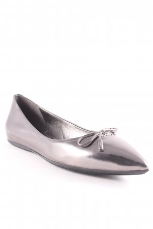 "Prada Ballerinas with Toecap ""Calzature Donna Vitello Specchio Ballerina Antracite 41"""
