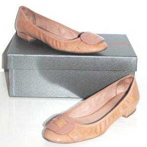 PRADA Ballerinas Nude Gr. 40 Top-Zustand