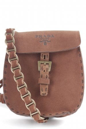 Prada Bumbag cognac-coloured-brown Boho look